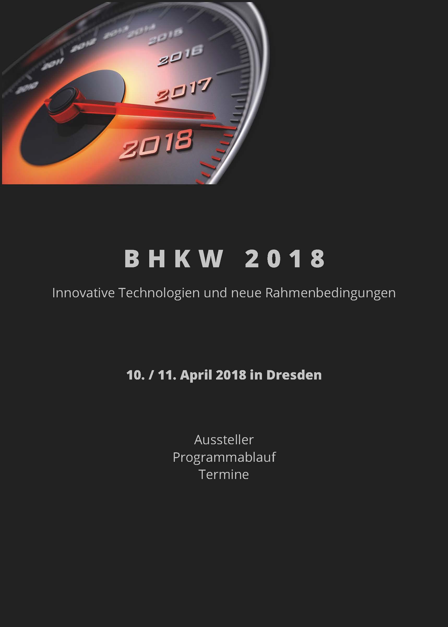 Infobroschüre zur BHKW 2018