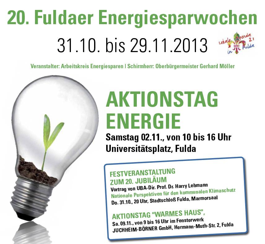 Fuldaer Energiesparwochen