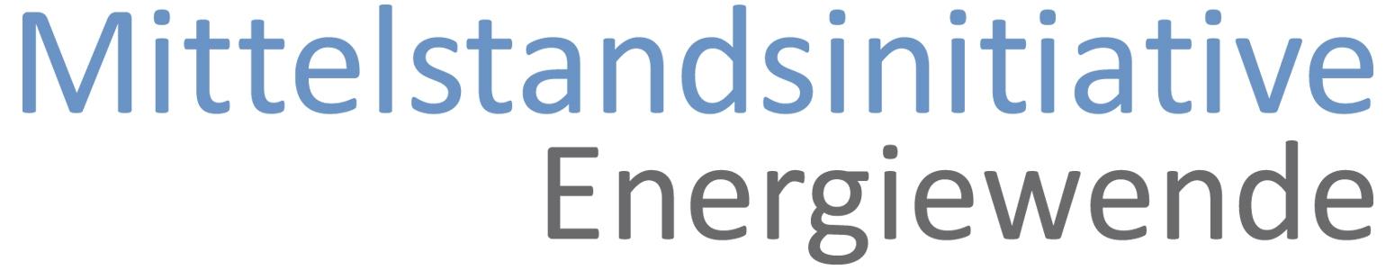 Logo Mittelstandsinitiative Energiewende (© Deutscher Industrie- und Handelskammertag e. V.)