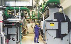 Bild einer Absorptionskälte-Anlage