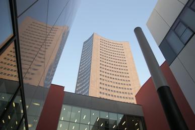 BHKW-Anwendungsfeld Bürogebäude