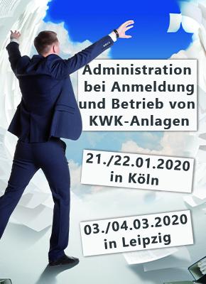 Administration bei Anmeldung und Betrieb von KWK-Anlagen