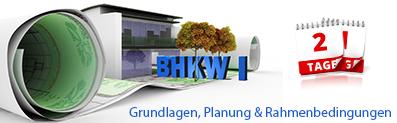 BHKW-Planungsseminar I