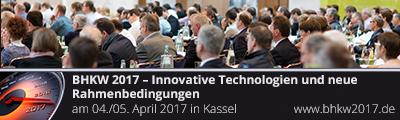 BHKW 2017 – Innovative Technologien und neue Rahmenbedingungen