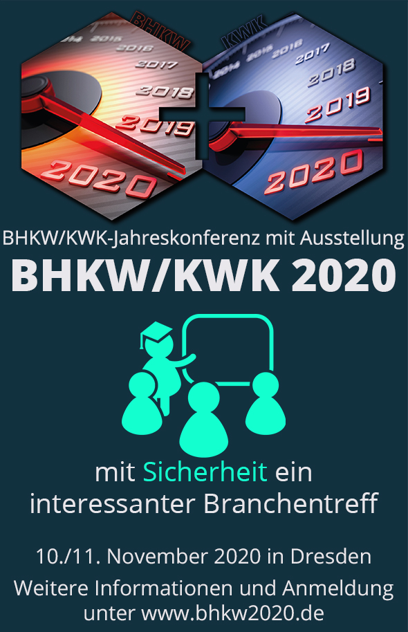 BHKW/KWK-Jahreskonferenz 2020