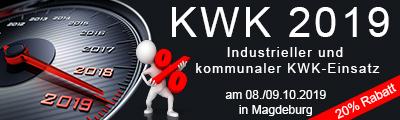 KWK 2019 – Industrieller und kommunaler KWK-Einsatz