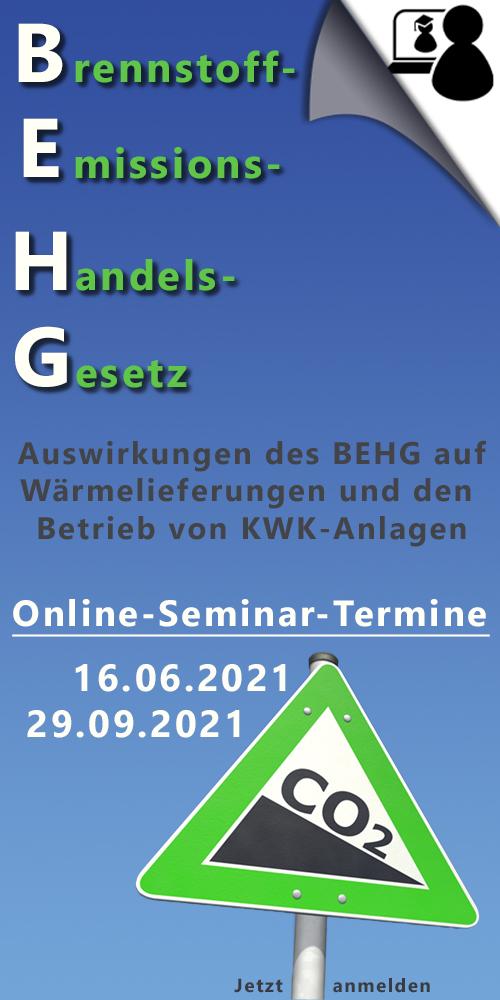 Online-Seminare zum BEHG