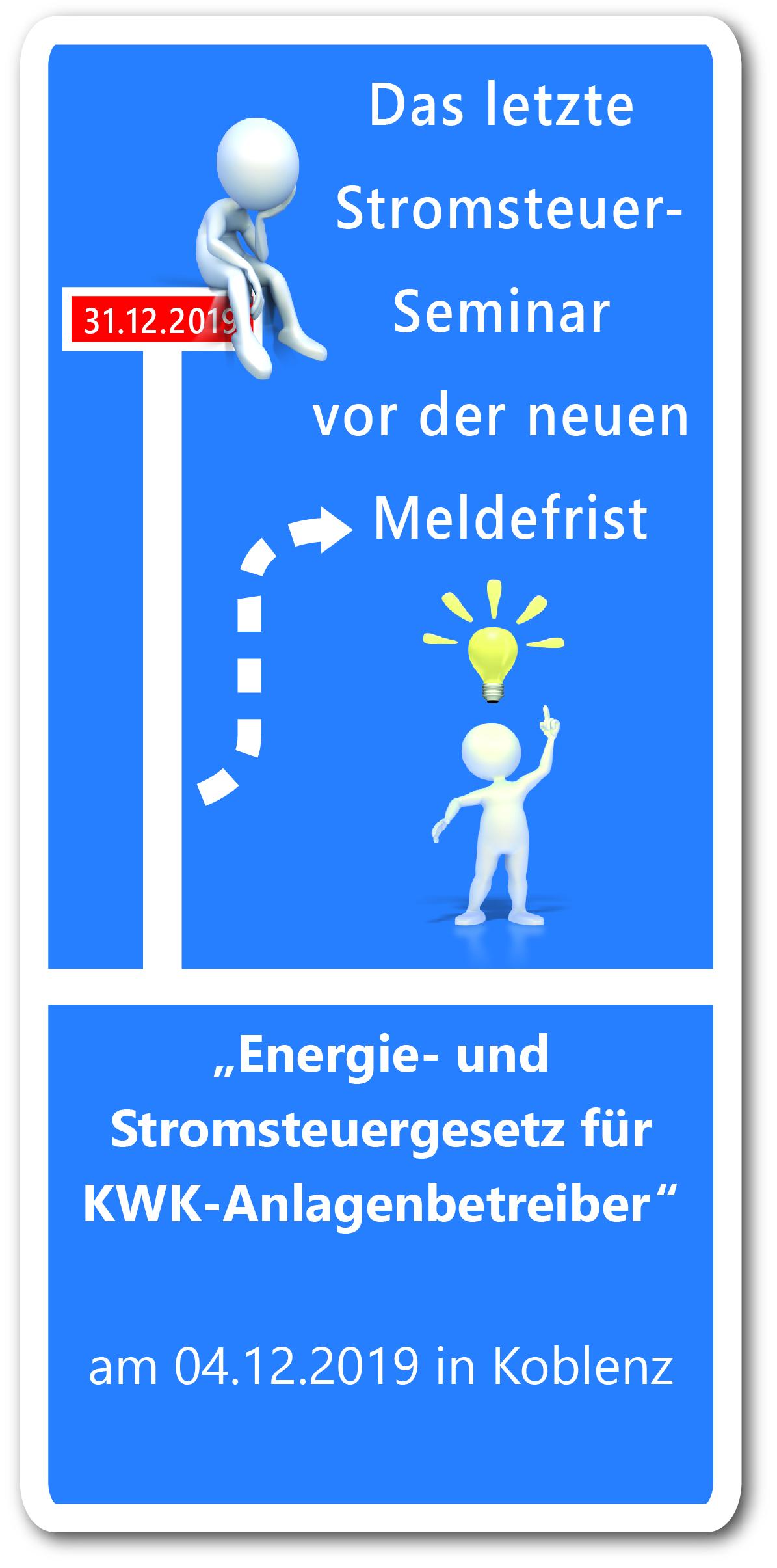 Energie- und Stromsteuergesetz f�r KWK-Anlagenbetreiber
