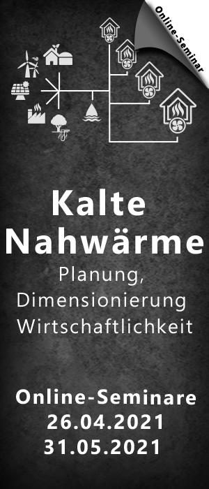 Kalte Nahw�rme - Planung, Dimensionierung und Wirtschaftlichkeit