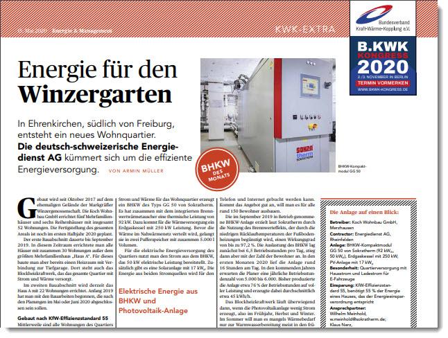 BHKW und PV in Kombination – Energie für den Winzergarten