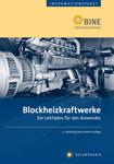 """Titelseite des Buches """"Blockheizkraftwerke. Ein Leitfaden für den Anwender"""""""