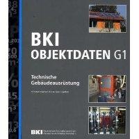 """Titelseite des Buches """"BKI Objektdaten G1 - Technische Gebäudeausrüstung"""""""