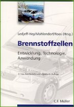 """Titelseite des Buches """"Brennstofzellen"""""""