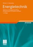 Abbildung des Buches Energietechnik