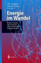 """Titelseite des Buches """"Energie im Wandel"""""""