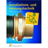 Titelseite des Buches Installations- und Heizungstechnik