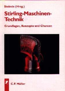 "Titelseite des Buches ""Stirling-Maschinen-Technik"""