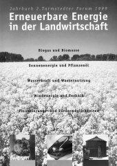 """Titelseite des Buches """"Erneuerbare Energien in der Landwirtschaft"""""""