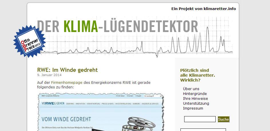 Klima-Lügendetektor.de