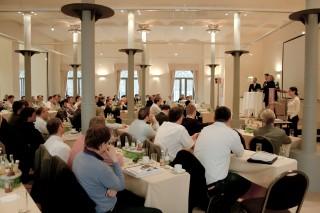Diskussionsrunde der BHKW-Jahreskonferenz 2011 im Hotel Abion in Berlin