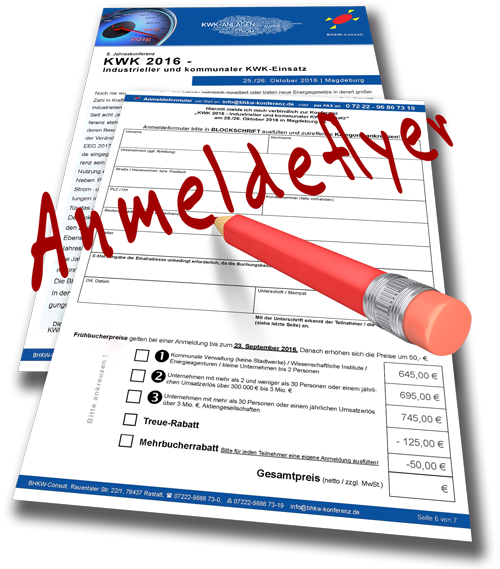 Hier erhalten Sie den Anmeldeflyer zur KWK 2016 als PDF