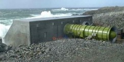 LIMPET - Land Installed Marine Powered Energy Transformer (Wavegen, Schottland)