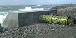 LIMPET - Land Installed Marine Powered Energy Transformer (Wavegen, Schottland)
