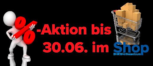 BHKW-Infozentrum-Shop - Rabatt-Aktion bis 30.06.
