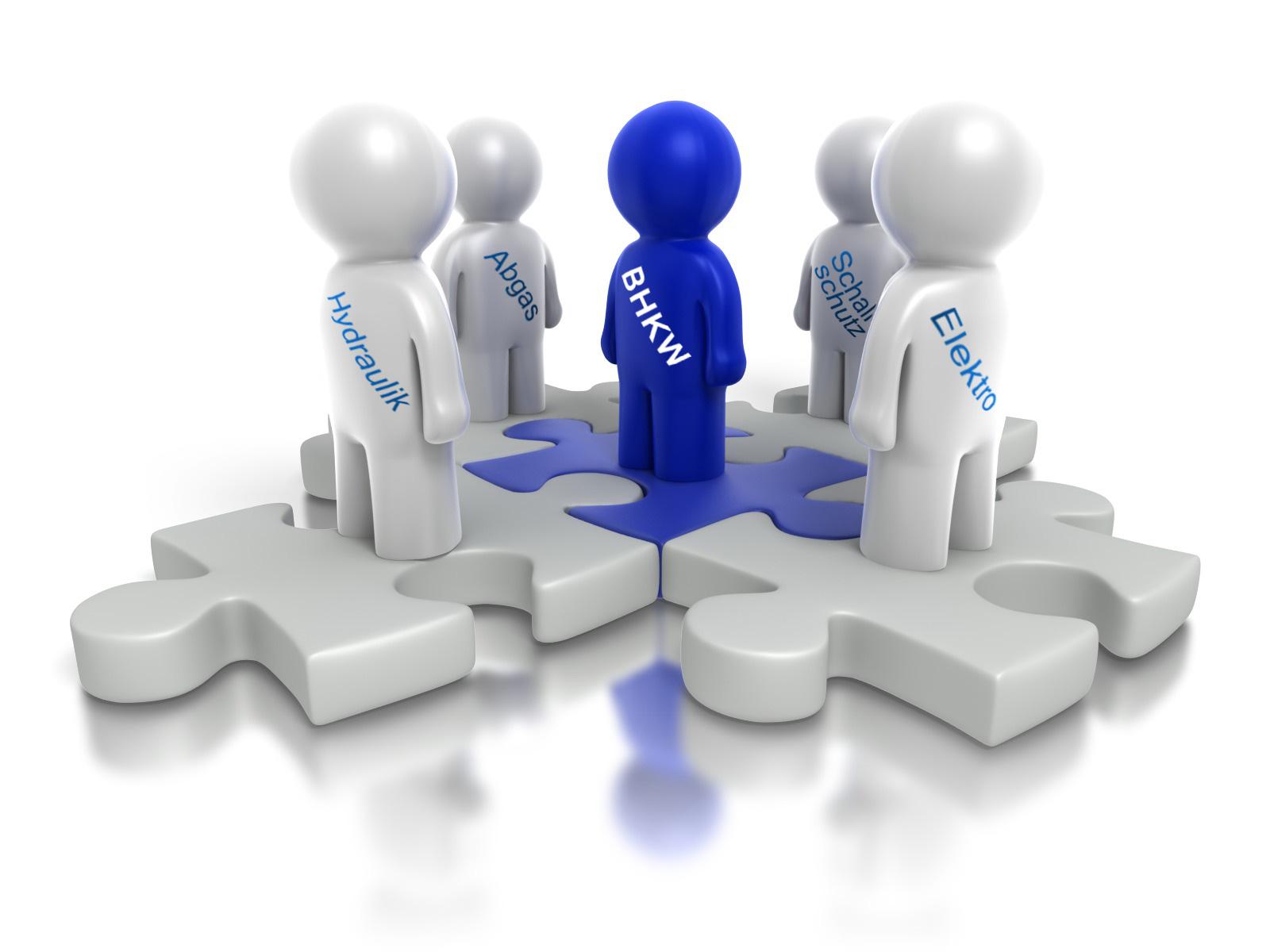 Die optimale technische Einbindung einer BHKW-Anlage ist wichtig für einen wirtschaftlichen BHKW-Betrieb (Bild: presentermedia / BHKW-Infozentrum)
