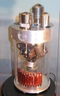 Wobble-Yoke - Umwandlung der axialen Zylinderkraft in eine radiale Drehbewegung