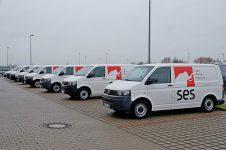 Über fünf regionale Servicezentralen in Deutschland sorgt SES für kurze Anfahrtswege und schnelle Reaktionszeiten