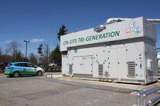 Tri-Generation Brennstoffzelle (Produktion von Strom, Wärme und Wasserstoff), Torrington, USA © FuelCell Energy Solutions GmbH