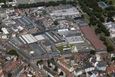 Luftaufnahme Werk Mannheim