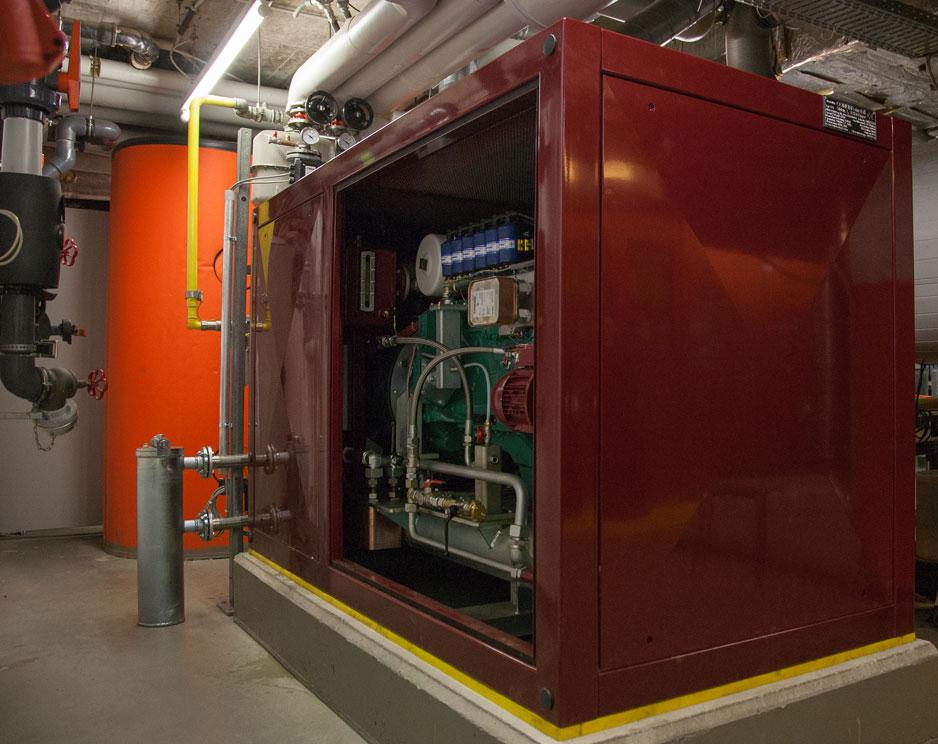 Modernisierung einer BHKW-Anlage mit 50 kW