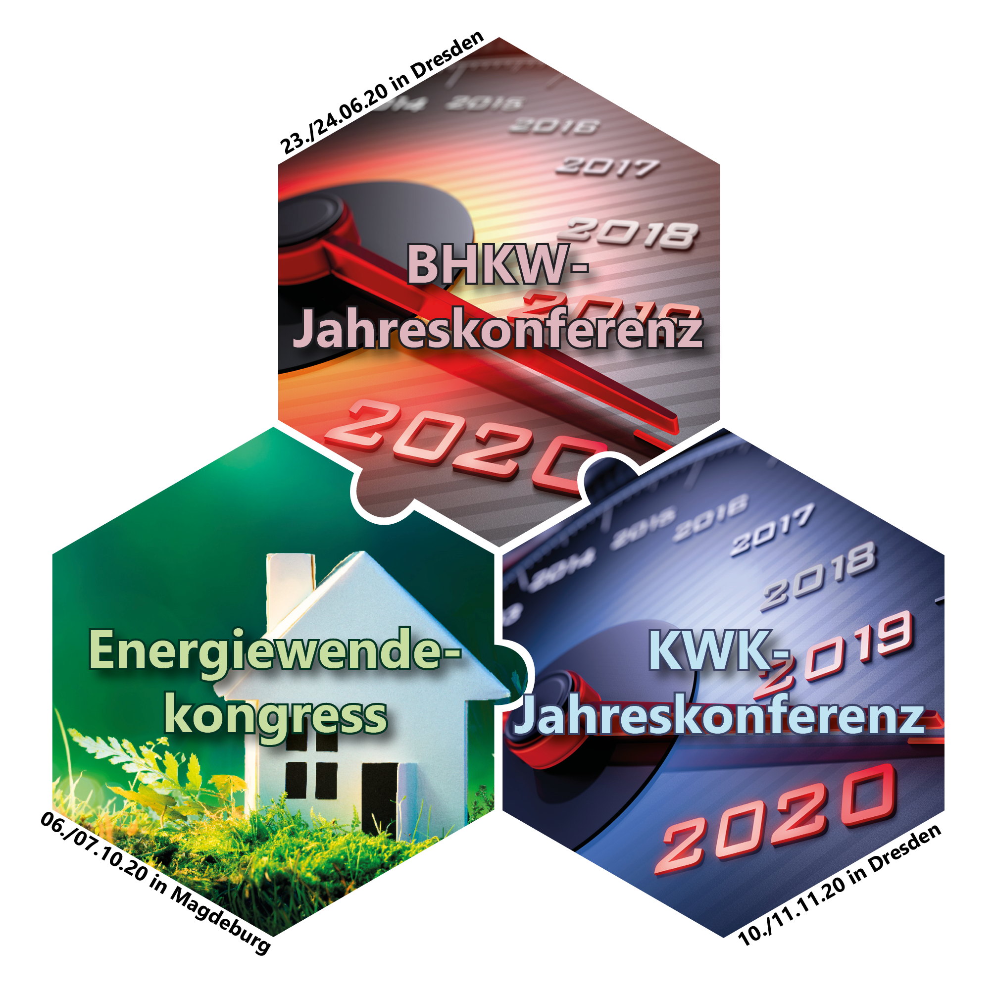 Drei Jahreskongresse zur Energiewende, BHKW und KWK