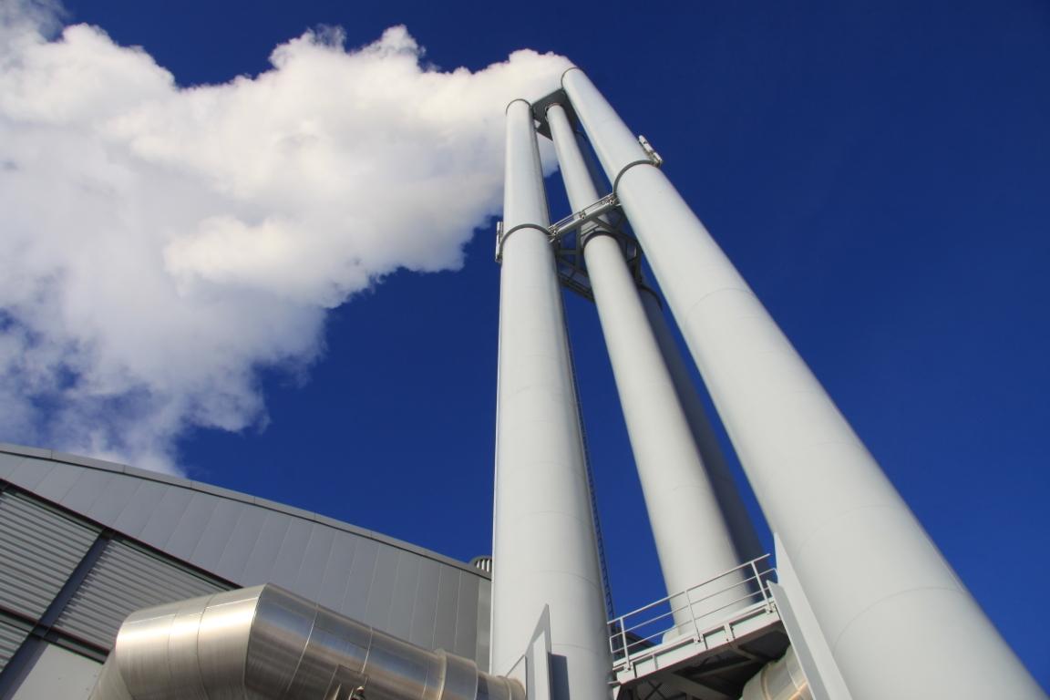 Industrie(heiz)kraftwerke setzen verstärkt Erdgas ein