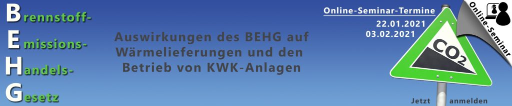 BEHG Online Seminar
