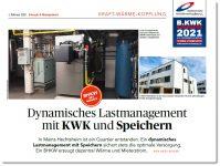 Dynamisches Lastmanagement mit KWK und Speichern