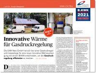 Innovative Wärme für Gasdruckregelung