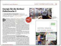 Energie für die Berliner Polizeiwache 5
